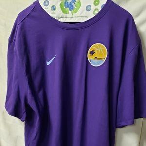 Nike Lakers Dri-Fit Tee Lakers